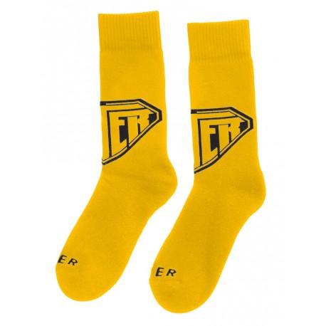 Calzini Iuter Logo Sock da uomo giallo