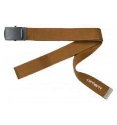 Cintura Carhartt uomo Orbit belt marrone