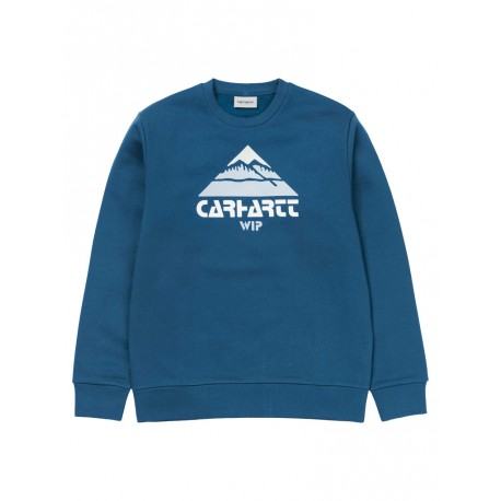Felpa Carhartt Mountain Sweat uomo donna verde
