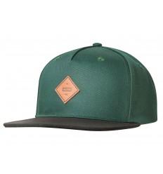 Globe Cappello con visiera Gladstone II Snapback verde scuro