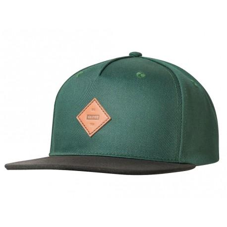 Cappelli Globe con visiera Gladstone II Snapback verde scuro