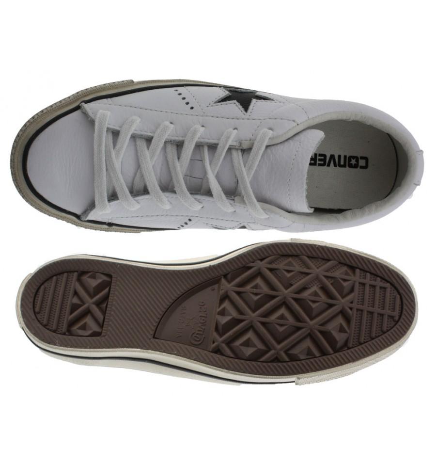 converse scarpe pelle uomo