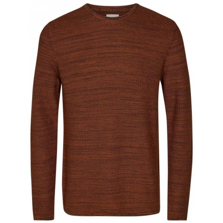 Felpa girocollo Minimum Reiswood 2.0 2136 uomo color mattone
