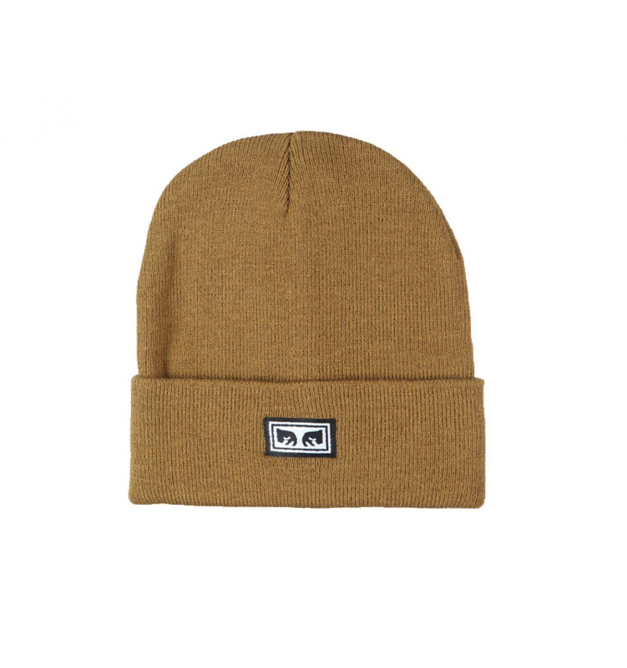 Cappello invernale Obey icon eyes beanie marrone chiaro cd6d02784b22