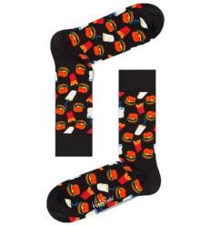 Happy socks Hamburger calzino uomo blu