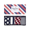 Happy socks calzino Stripe Gift box da 4 uomo multicolore
