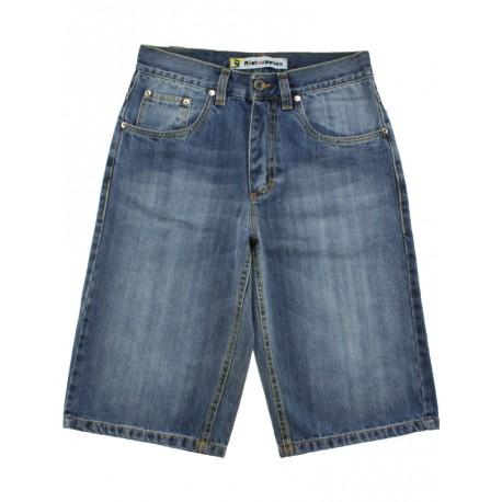 Bermuda Ies uomo Notevole jeans chiaro