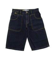 Bermuda Ies uomo Freak jeans tasconi scuro