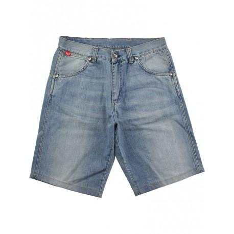 Bermuda Ies uomo Freak Skulls jeans chiaro