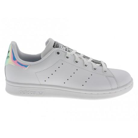 Scarpe Adidas Stan Smith J donna bianco