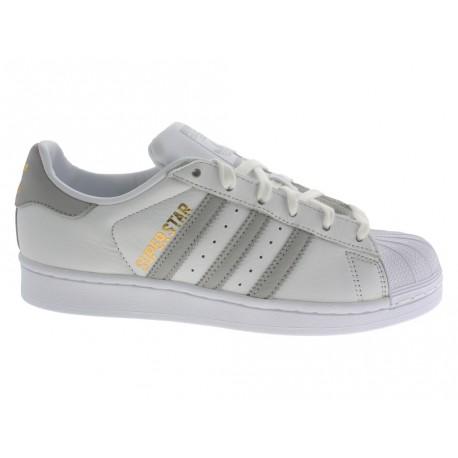 Scarpe Adidas Superstar W donna argento