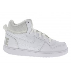 Scarpe Nike Court Borough donna bianco