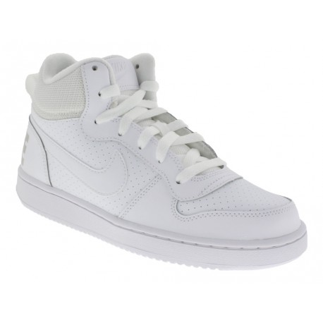 Scarpe Nike Court Borough Low donna bianco