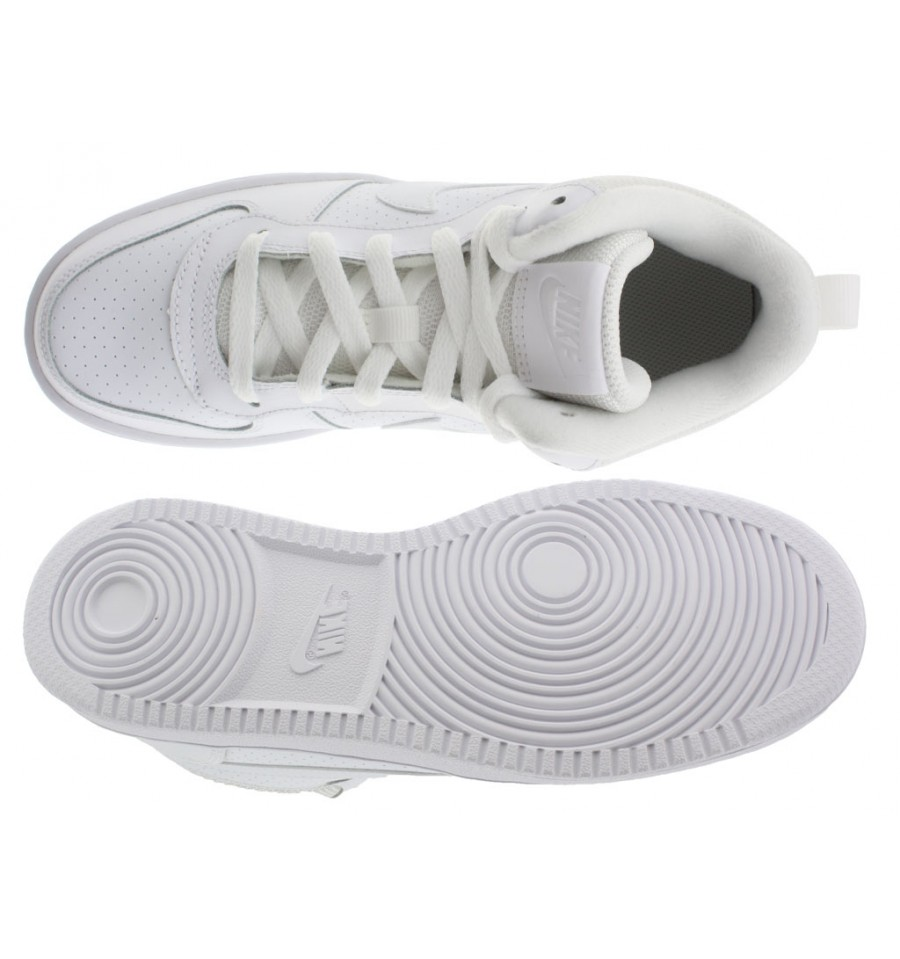 finest selection e1a5b 14525 ... Scarpe Nike Court Borough Low donna bianco
