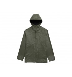 Giacca impermeabile Herschel da uomo Rainwear Classic verde scuro
