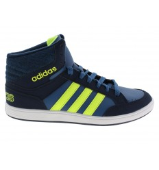 Scarpe Adidas Hoops mid da donna blu