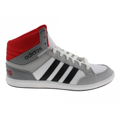 Scarpe Adidas Hoops mid da donna bianco