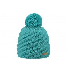 Cappello in maglia Barts da donna con pon pon verde