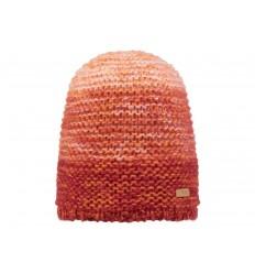 Cappello Barts da donna in maglia sfumato marrone