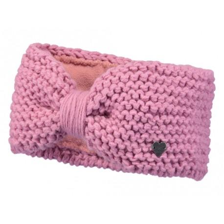 Fascia Barts in maglia da donna rosa