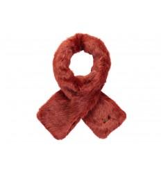 Sciarpa Barts da donna in pelliccia sintetica rosso