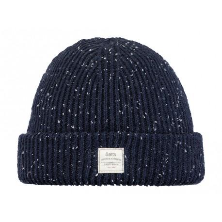 Cappello Barts da donna in maglia con risvolto blu
