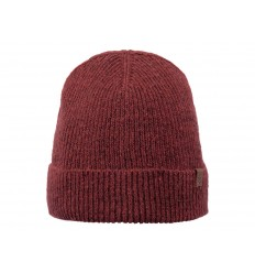 Cappello Barts uomo donna con risvolto rosso