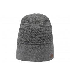 Cappello Barts da uomo sfumato nero grigio