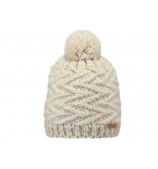 Cappello Barts in maglia da donna bianco invernale