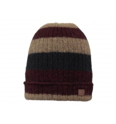 Cappello Barts Hawk unisex in lana morbida marrone