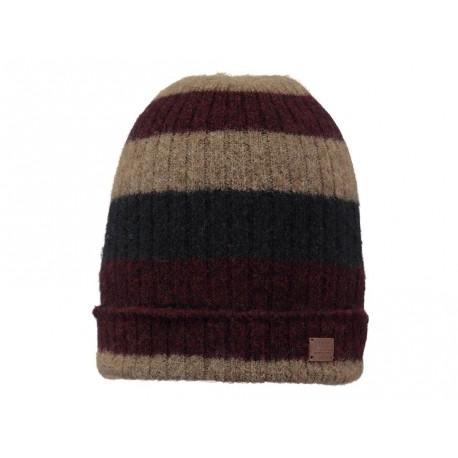 Cappello Barts Hawk unisex in lana morbida marrone