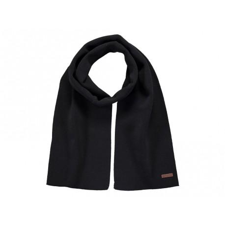 Sciarpa Barts da uomo in viscosa invernale elegante nero