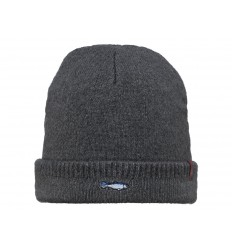 Cappello Barts da uomo invernale con risvolto grigio scuro