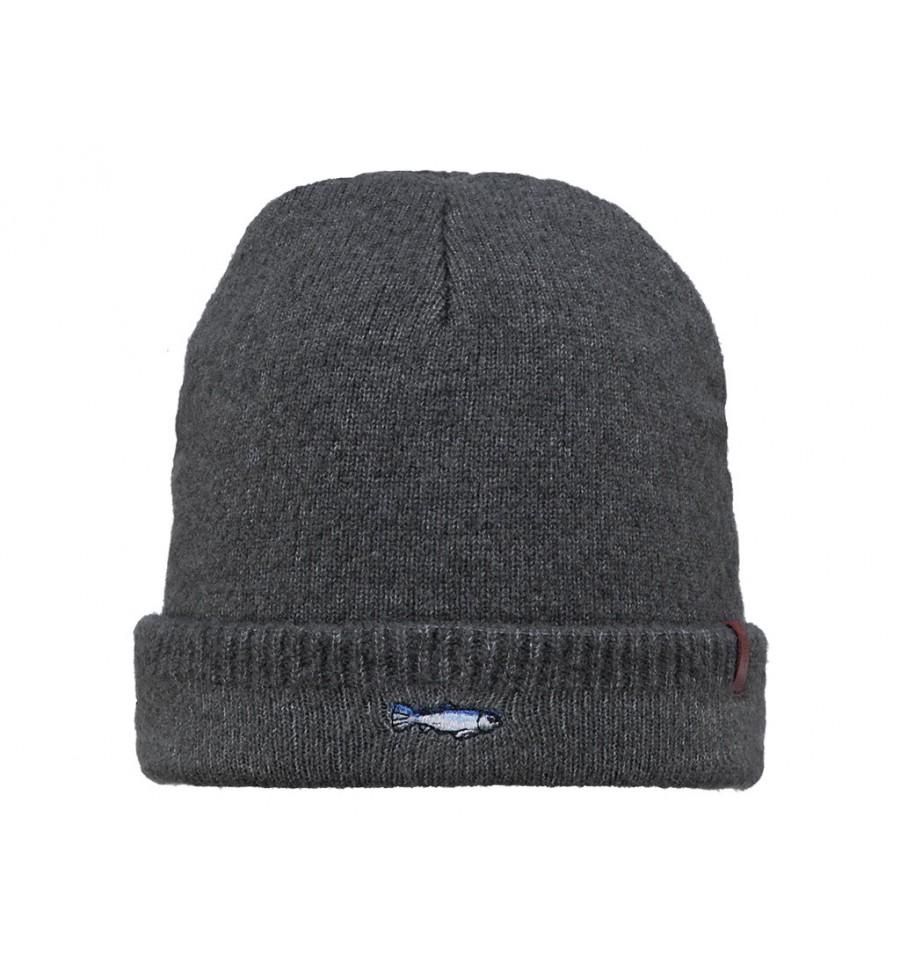 Cappello Barts da uomo invernale con risvolto grigio scuro dc0225cb4f95