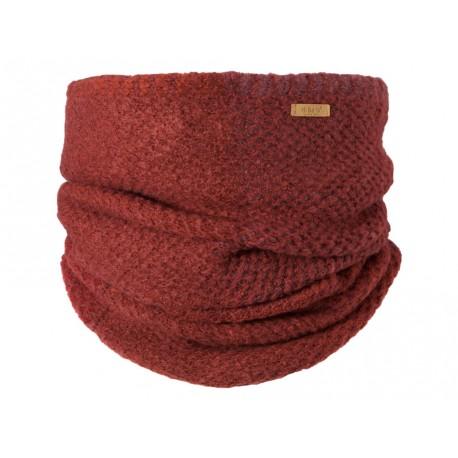 Sciarpa Barts da donna scaldacollo in maglia invernale bourdeaux