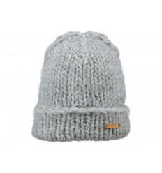 Cappello Barts uomo donna a maglia con risvolto grigio