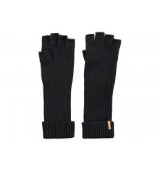Guanti Barts da donna mezzi guanti lunghi al polso nero