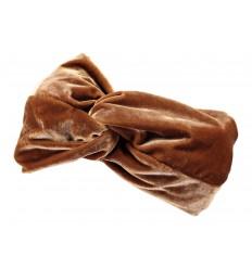 Fascia capelli da donna Barts elastica marrone