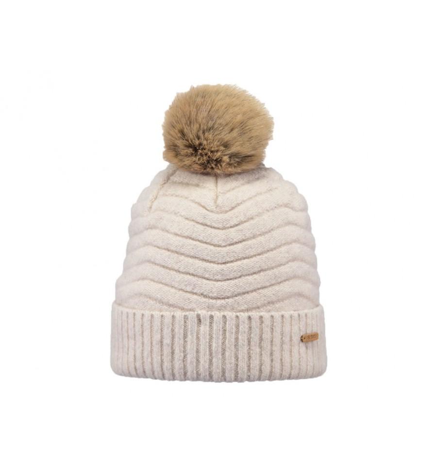 Cappello Barts da donna con pon pon beige 9b29fbd27bae