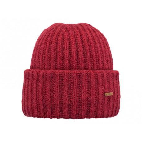 Cappello Barts da donna con risvolto rosso