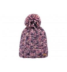 Cappello Barts da donna invernale con pon pon viola