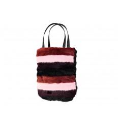 Borsa Barts da donna in eco pelliccia multicolore nero