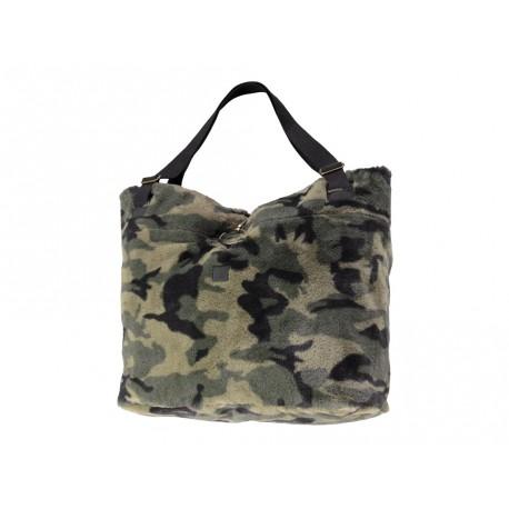 Borsa da donna Barts camouflage verde scuro