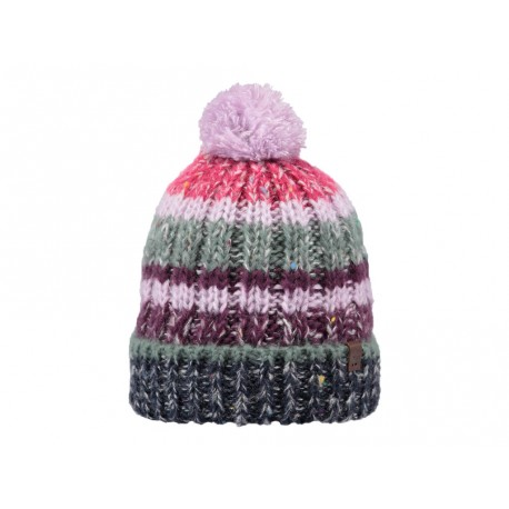 Cappello Barts da donna a strisce multicolore