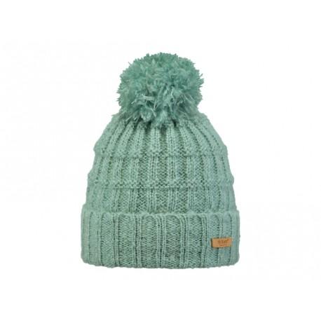 Cappello Barts da donna con pon pon verde