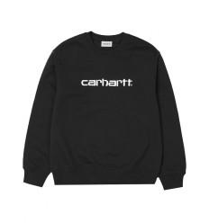 Felpa Carhartt sweat invernale uomo nero