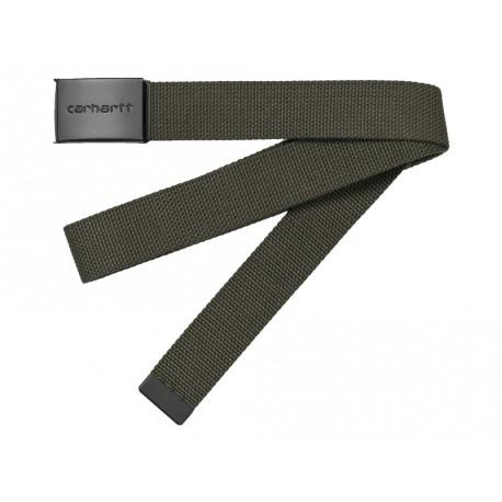 Cintura Carhartt uomo clip belt tonal verde