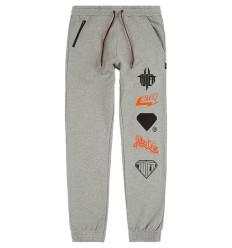 Pantaloni tuta Iuter Horns da uomo grigio chiaro