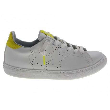 Scarpe 2Star da donna glitter bianco e giallo