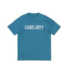 T shirt Carhartt uomo S/s Speedlines turchese